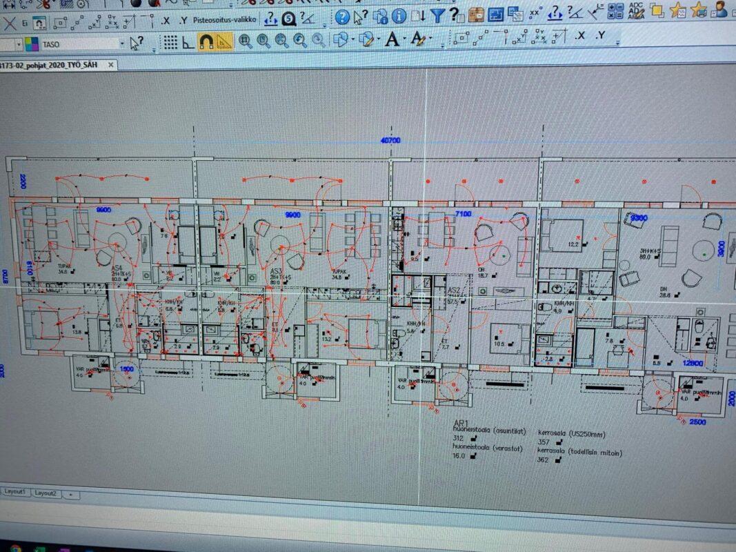 CAD suunnittelu, Sähkö-av